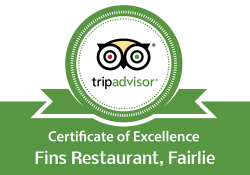 The Catch At Fins - Tripadvisor excellence award winners